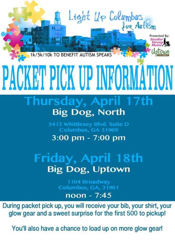 Packet Pickup Info!!!